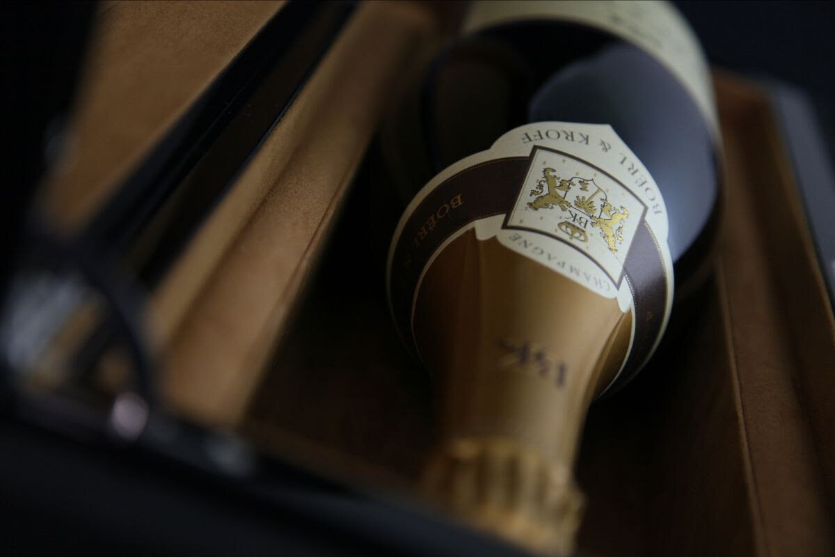 Fancy a bottle of exclusive Champagne?
