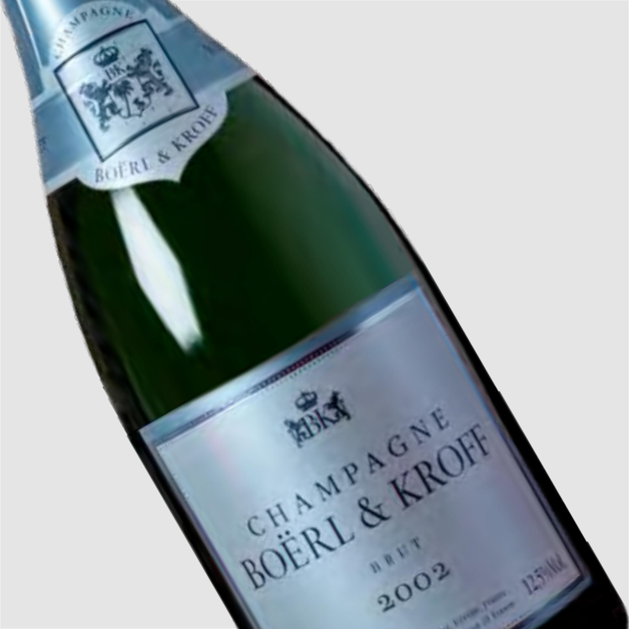Champagne Boërl & Kroff 2002 Magnum: Initial Bottle Offering priced at 6600 euros