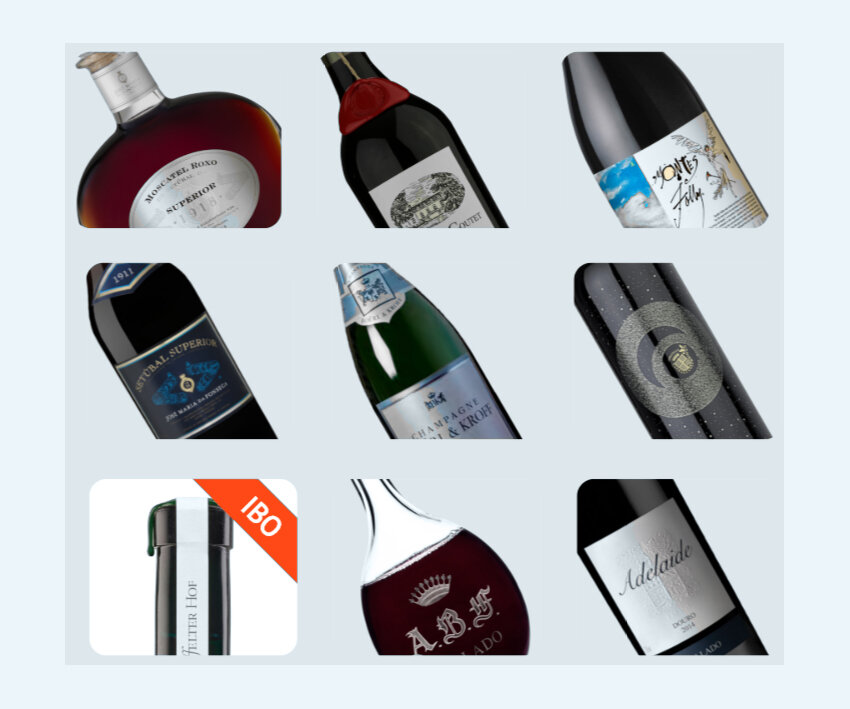 Every fine wine you can buy on our marketplace