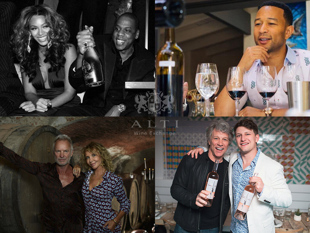 Seven celebrity-produced wines lauded by critics