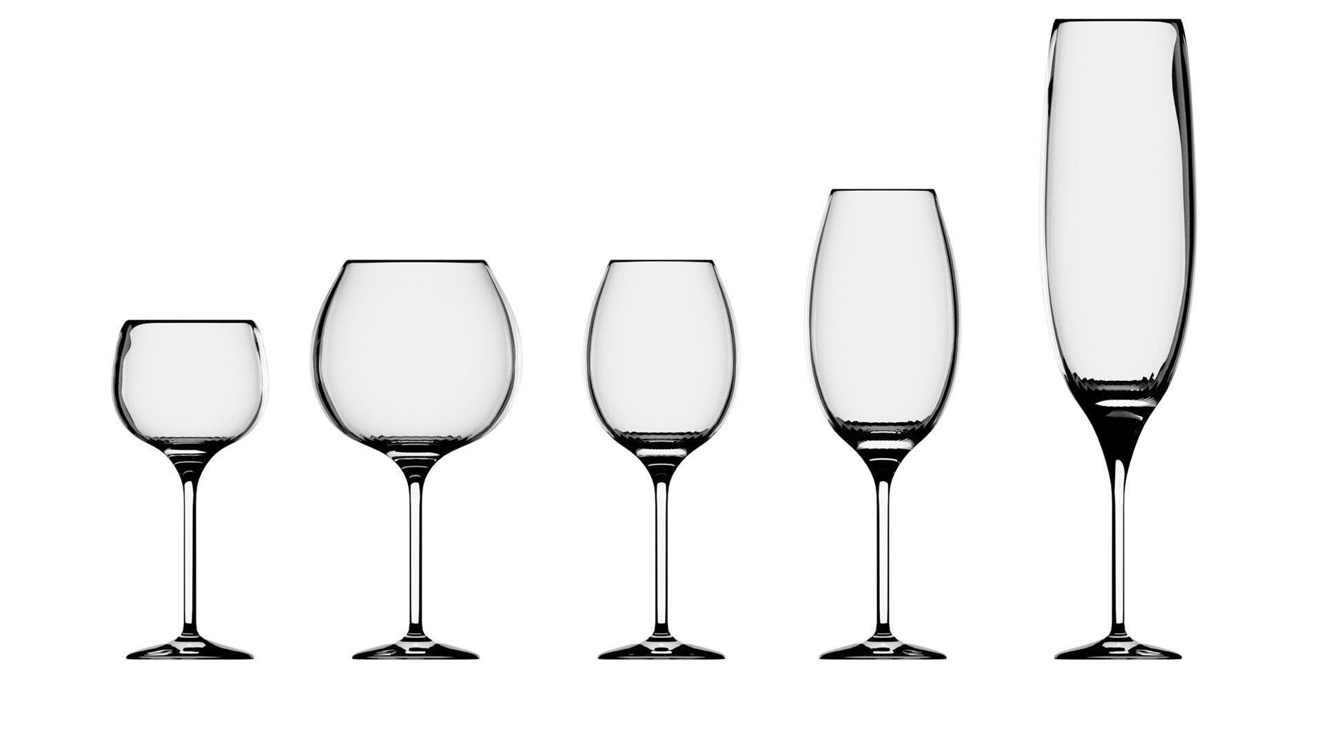 What is the best glass to serve each wine?