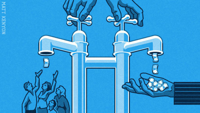 Drawing a new economic path to save people from falling behind