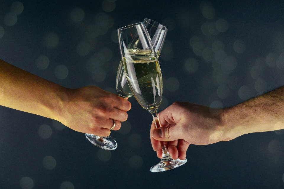 This is why we drink Champagne on New Year's Eve
