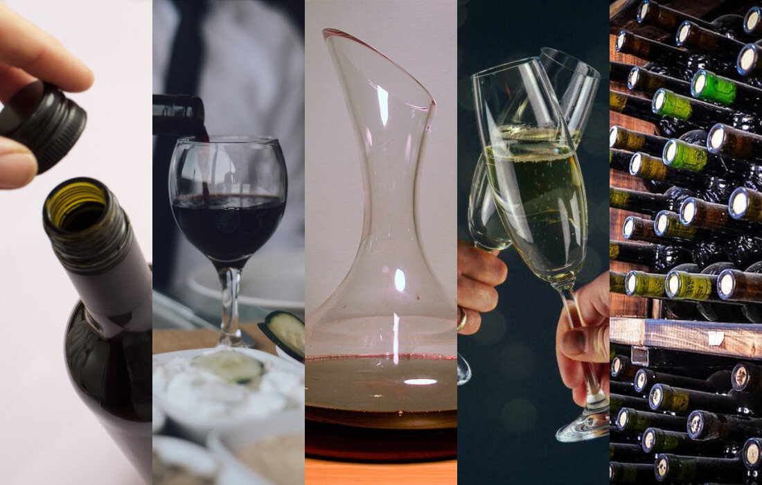 Five common myths in terms of tasting wine