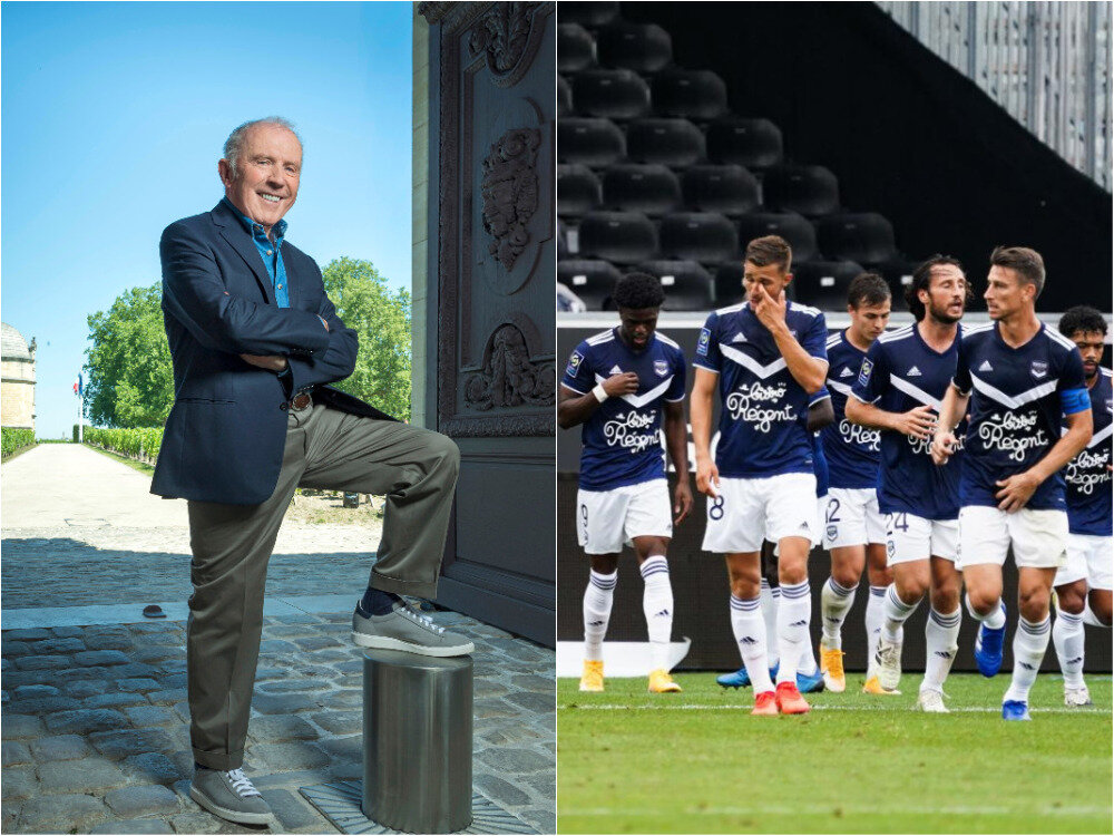 Could Bordeaux wine producers save the city's frail top tier football club?